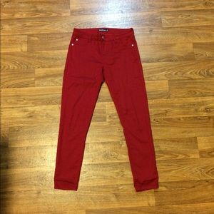 "Red skinny Jeans ""Tinseltown"""